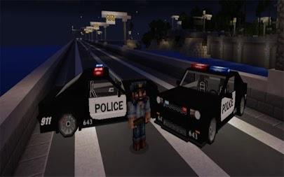 Police Car Addon MCPE APK screenshot thumbnail 3