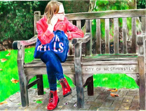 Photo: Julie Ann Maguire : Girl with a Jack Wills Bag : 29cm x 38cm