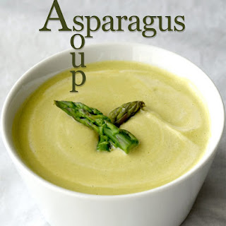 Cream of Asparagus Soup.