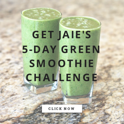 Get Jaie's 5-Day Green Smoothie Challenge