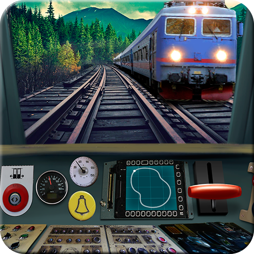Train driving simulator (game)