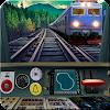 Train simulateur de conduite