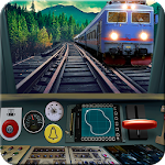 Train driving simulator Icon
