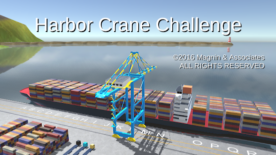 Harbor Crane Challenge- screenshot thumbnail