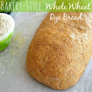 Bakery-Style Whole Wheat Rye Bread
