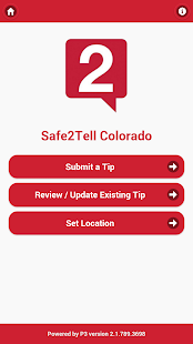 Safe2Tell CO- screenshot thumbnail