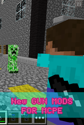New GUN MODS FOR MCPE - screenshot
