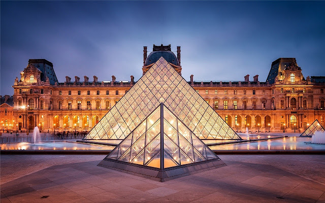 Louvre Museum Theme & New Tab