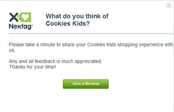 Photo: I took the survey at the end to share my thoughts on the shopping process.