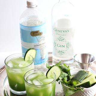 Cucumber Mint Cocktails