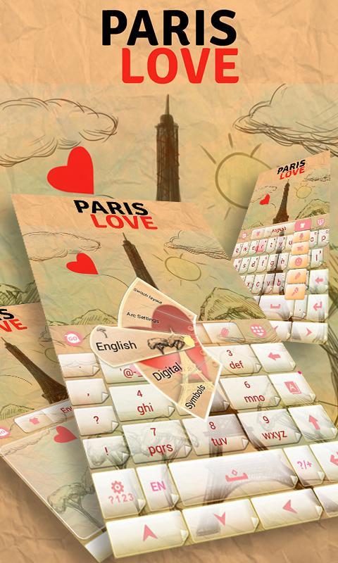 Paris-Love-GO-Keyboard 7