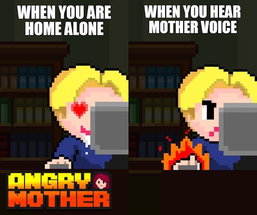 愤怒的妈咪 -妈妈发现之前关电脑 Angry Mother