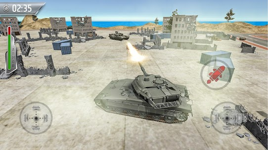 Tank Fighting War Games: Army Shooting Games 2020 1