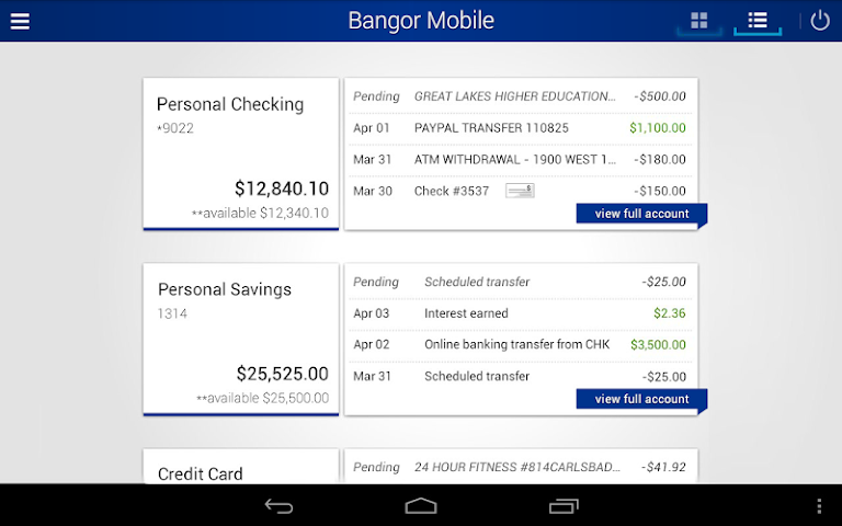 android Bangor Mobile Screenshot 5