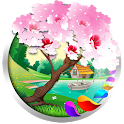 Spring and Easter Live Wallpaper + Tamagotchi Pet icon