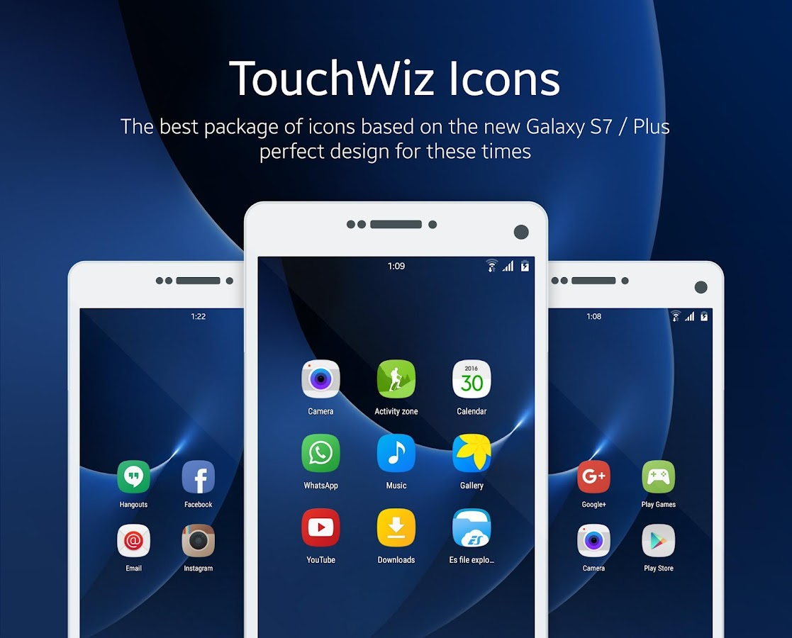 touchwiz icon pack android apps on play