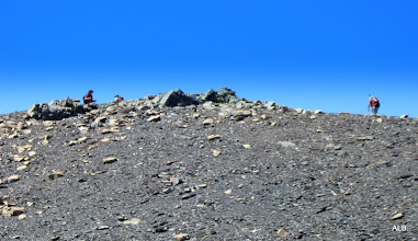 Photo: Esa si es la cima del Tucon Redono.