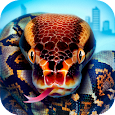 Angry Anaconda Hunting Animals icon