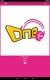 One FM- screenshot thumbnail