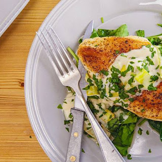 Nancy Fuller's Boneless Chicken Breasts with Boursin.