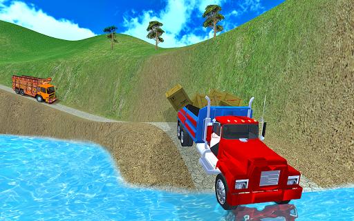 Code Triche 3D Truck Driving Free Truck Simulator Game APK MOD screenshots 4