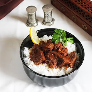 Lamb in Spicy Thick Gravy