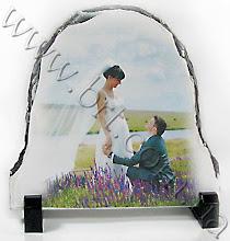 Photo: Свадебная фотография на камне полукруглой формы