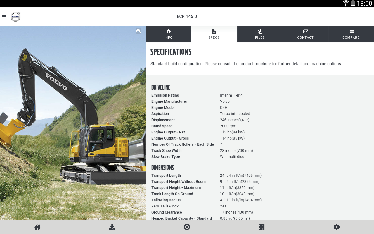 Volvo CE Insider- screenshot