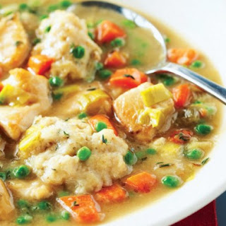 Weight Watchers Chicken Stew with Dumplings