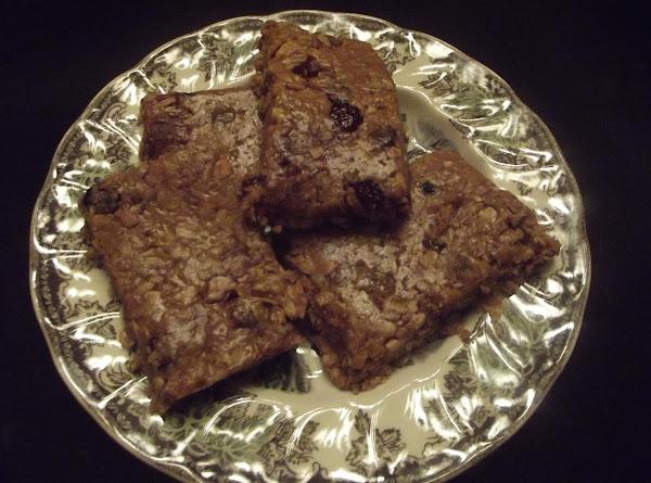 Cindi's Chewey Granola Bars Recipe