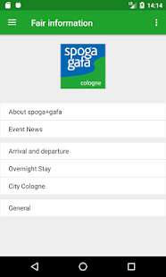 spoga+gafa- screenshot thumbnail