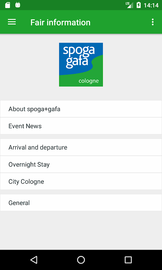 spoga+gafa- screenshot