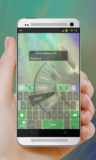 玩免費個人化APP 下載鴿子的羽毛 GO Keyboard app不用錢 硬是要APP