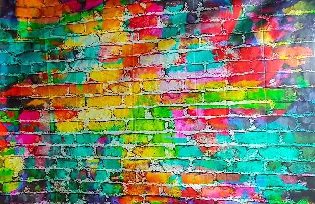 un muro a colori  di g.de.f