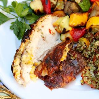 Grilled Butterflied Rosemary Lemon Chicken
