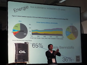 Photo: gianni kovacevic about green energy and the huge demand for copper ~ http://jarogruber.blogspot.de/2015/11/edelmetalmesse.html