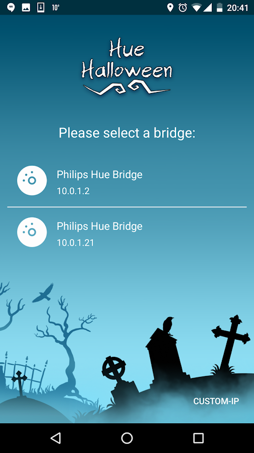 Hue Halloween- screenshot