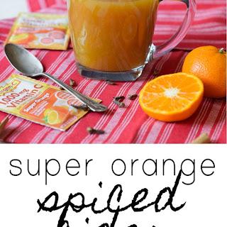 Super Orange Spiced Cider.
