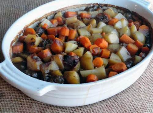 """Connie's Sirloin Casserole""""Oh my goodness, tried this and it is FANTASTIC! Took..."""