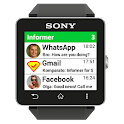 Notifications Sony SmartWatch icon