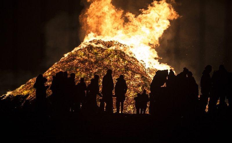A batalha das fogueiras da Holanda