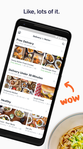 Screenshot for Caviar - Food Delivery in United States Play Store
