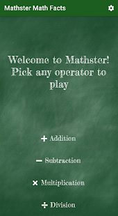 Mathster - Math Facts 1.0.0 APK + Mod (Paid for free / Free purchase) إلى عن على ذكري المظهر