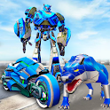 Beast Bike Robot Transformation: Free Robot Games icon