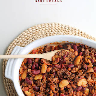 Beef and Bacon Baked Beans.