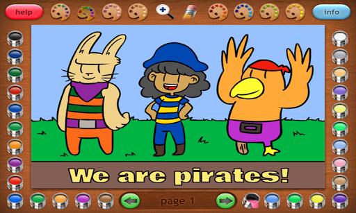 Coloring Book 30 Lite: Pirates
