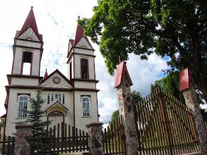 Photo: Aukštadvario Kristaus Atsimainymo bažnyčia (1913)