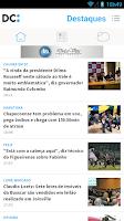 Screenshot of Diário Catarinense
