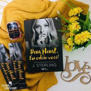 fotos e livros dear heart j sterling blog leitora compulsiva