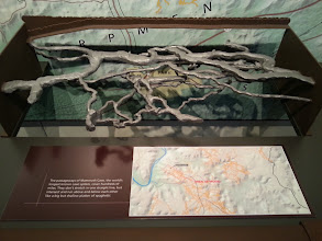 Photo: 3-D visualization of the cave system. we saw only a bare fraction of this